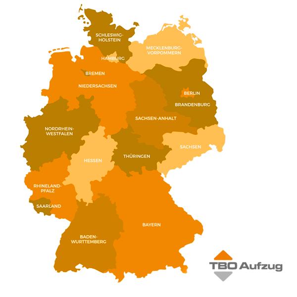 TBO Aufzug Deutschlandweiter Service
