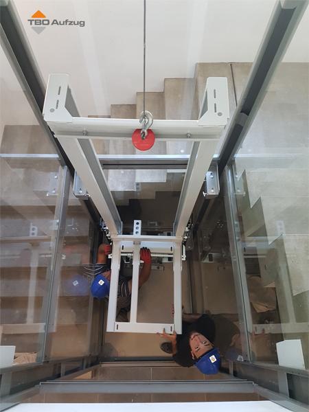 TBO Aufzug - Herstellung und Montage