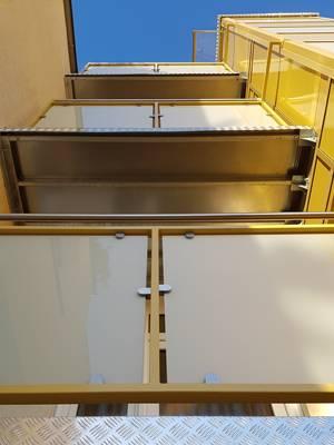 TBO Aufzug - Balkone und Podeste