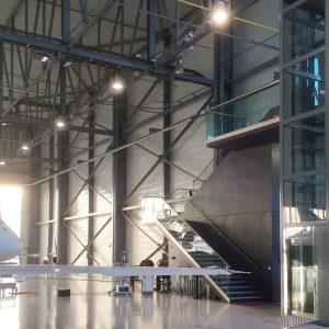 TBO Aufzug-DomusLift-Flugzeug Hangar (1)
