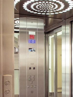 Display Anzeige vom TBO Aufzug