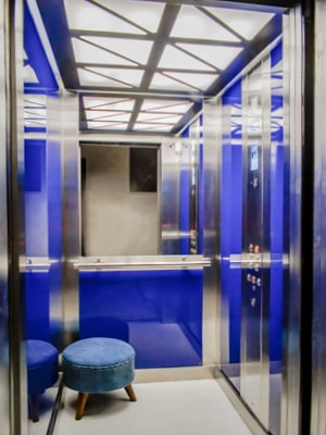 Kabinenlicht im TBO Aufzug